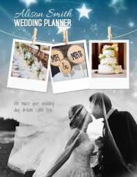 Wedding Event Planner Video Template Volante (Carta US)