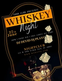 WHISKEY DRINK NIGHT Video Template