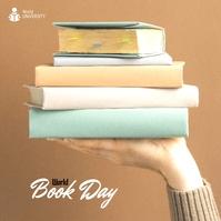 World Book Day 2021 Publicação no Instagram template