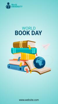 World Book Day História do Instagram template