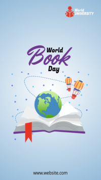 World Book Day Instagram Story template