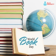 World Book Day Instagram Post template