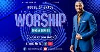 worship Facebook Ad template
