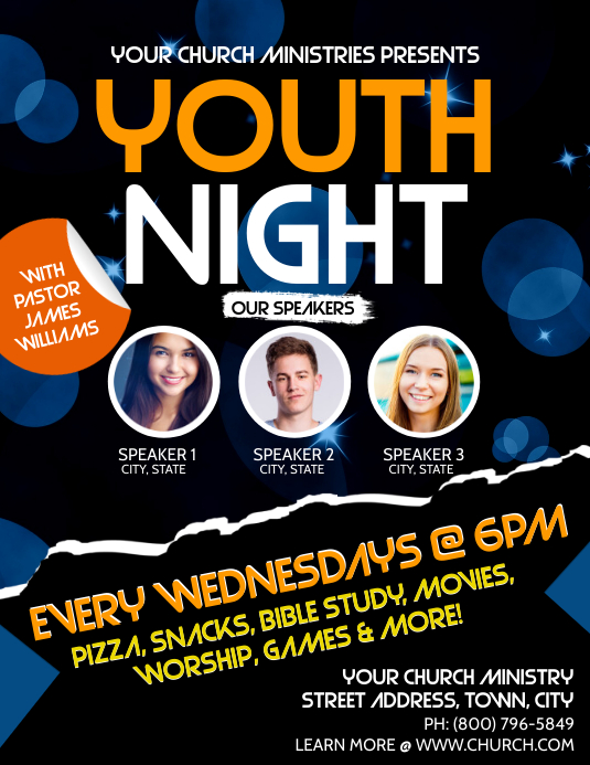Copy of youth night
