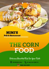 Corn Food 22 A2 template