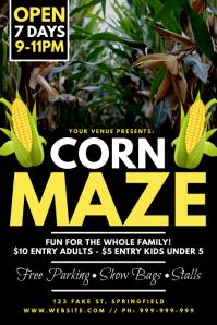 Corn Maze Poster