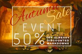 Cornucopia Thanksgiving Pumpkin Harvest Fest Promo Discount