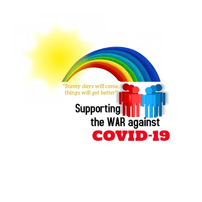 Corona Community Campaign Poster