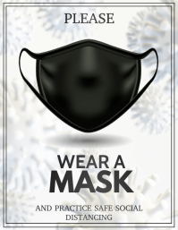 corona virus awareness,Wear mask