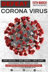 Corona virus awareness posters