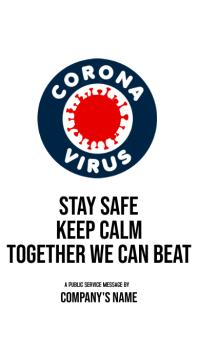 Corona Virus Instagram Story Template