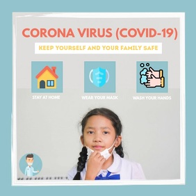 Corona Virus Safety Mask