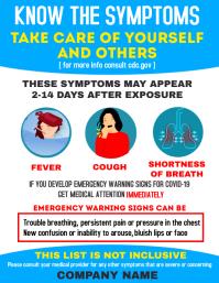 Corona virus symptoms awareness