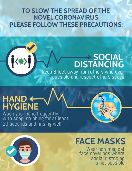 Corona virus templates,covid 19 awareness Pamflet (VSA Brief)