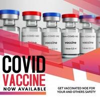 Corona virus Vaccine Квадрат (1 : 1) template