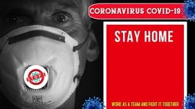 Coronavirus, Covid-19, Stay Home, Save lives