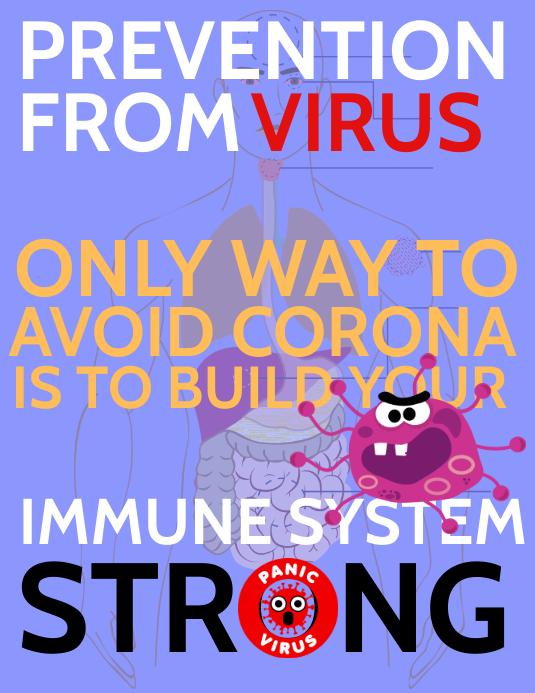 Coronavirus Alert Template
