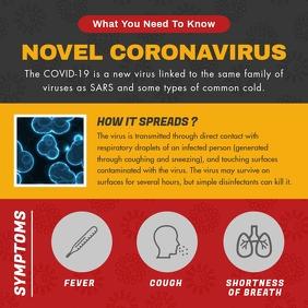 Coronavirus Basic Facts Awareness Instagram I