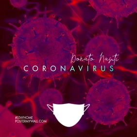 Coronavirus CD Cover Mixtape Music