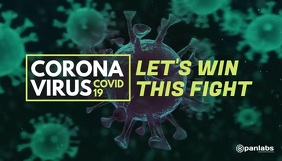 coronavirus covid 19 blog header video template
