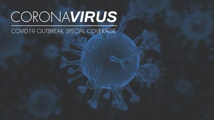 coronavirus covid 19 coverage zoom background template