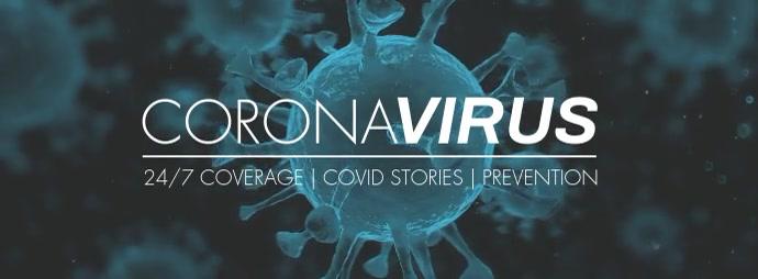 Coronavirus Covid19 facebook cover video template