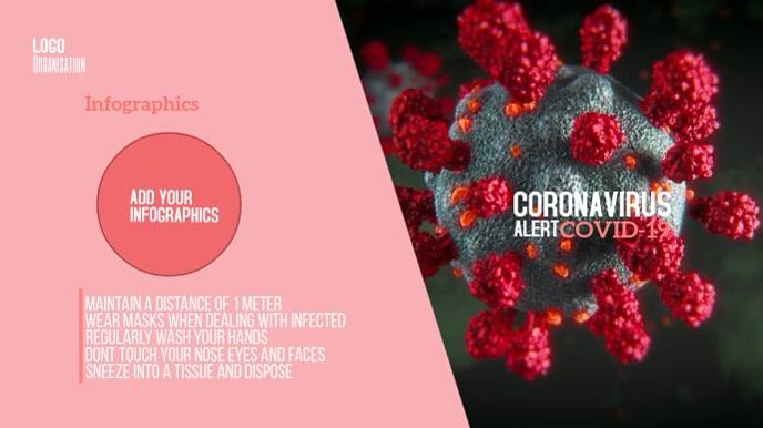 Coronavirus Digitale Vertoning (16:9) template
