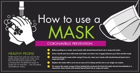 Coronavirus Gambar Bersama Facebook template