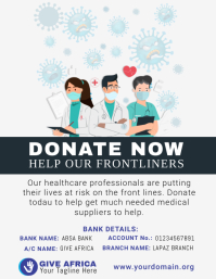 Coronavirus Fundraising Flyer Template