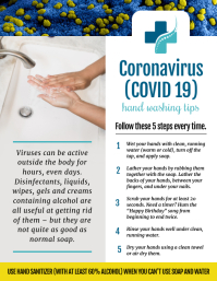 Coronavirus Handwashing Tips Flyer