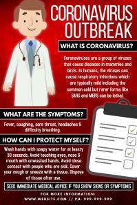 Coronavirus Outbreak Poster