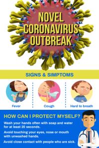 Novel Coronavirus Outbreak Poster