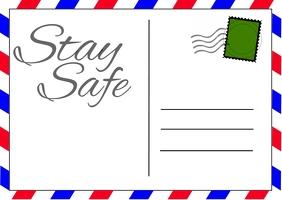 Coronavirus Postcard