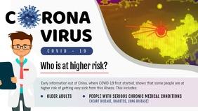 Coronavirus Risk Awareness Facebook Cover Vid