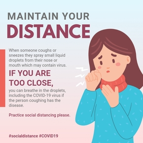 Coronavirus Social Distancing Information Sha