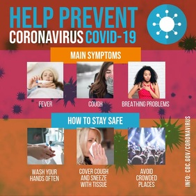 Coronavirus symptoms and prevention video