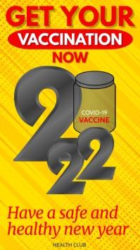 Coronavirus Vaccine Template Instagram-verhaal
