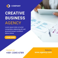 Corporate Business Agency Banner post template