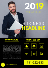 corporate business AGENT flyer template