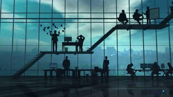 corporate business company Miniatura de YouTube template