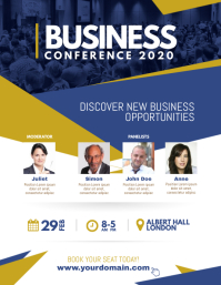 Corporate Business Conference Poster Flyer