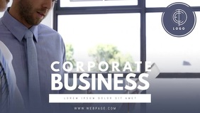 Corporate Business Facebook Cover Video Template