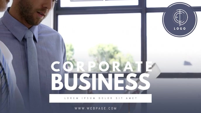 Corporate business facebook cover video template postermywall corporate business facebook cover video template maxwellsz