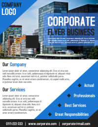 Corporate poster templates postermywall corporate business flyer and poster template wajeb Gallery