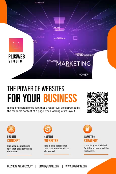 Corporate Business Flyer Poster template