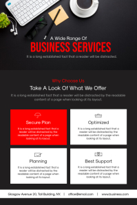 Corporate Business Flyer 海报 template
