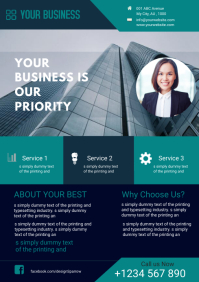 CORPORATE BUSINESS FLYER