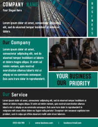 Corporate Business Flyer Template Design