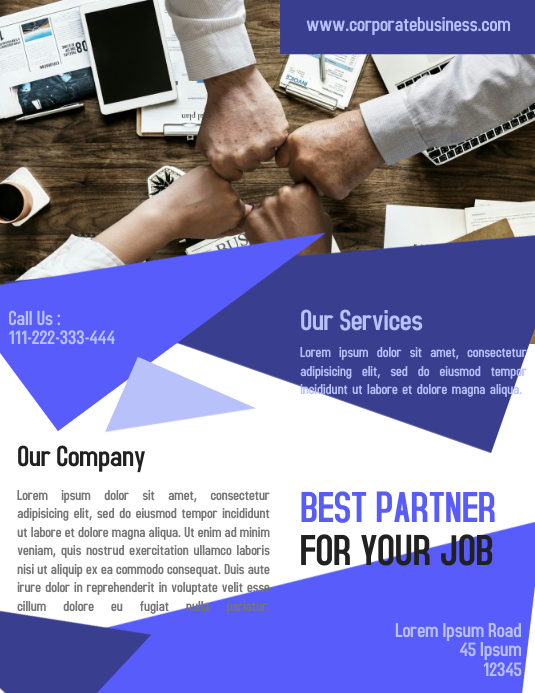 Corporate Business Flyer US size