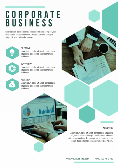 Corporate Bussiness flyer template